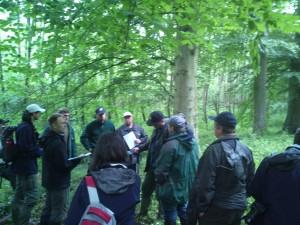 Uvajalni tečaj za popisovalce v Murski šumi